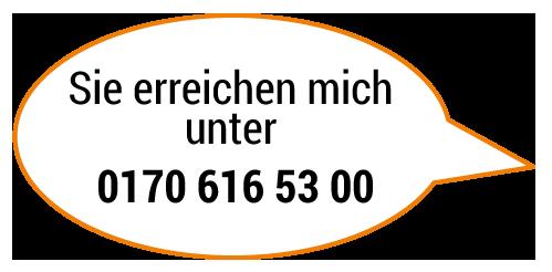 Ute Pelzer-Gabriel: Sie erreichen mich unter 0170 616 53 00